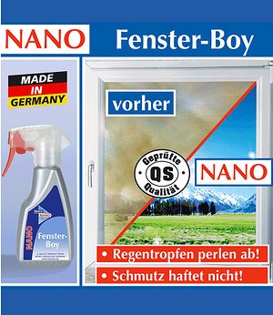 WENKO NANO Fensterboy 250ml,1 Pack.