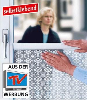 """WENKO Sichtschutzfolie """"Blumenranken"""",1 Stück"""