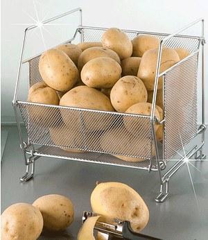 WENKO System-Küchenkorb,stapelbar,1 Stück