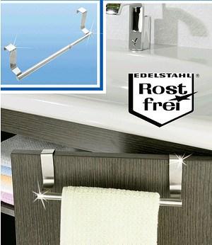 WENKO Tür-Handtuchstange ausziehbar,1 Stück