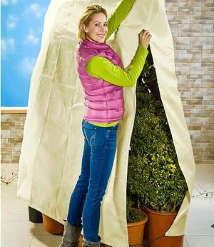 WENKO Winterschutz Vlieshaube für Pflanzen 120x180cm,1 Stück