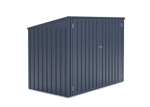 Westmann Mülltonnenbox 2-fach, 172x 100x 131 cm (BxTxH)