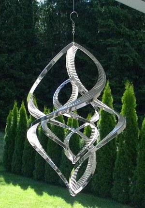 Windspiel Double Spinner 38cm