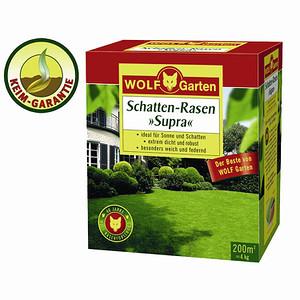 "WOLF-GARTEN Schatten-Rasensamen ""Supra"", Rasensamen für ca. 25qm"