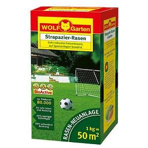 WOLF-GARTEN Strapazier-Rasensamen Loretta für ca. 50 qm
