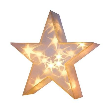 Beleuchtetes Deko-Objekt 3D-Stern