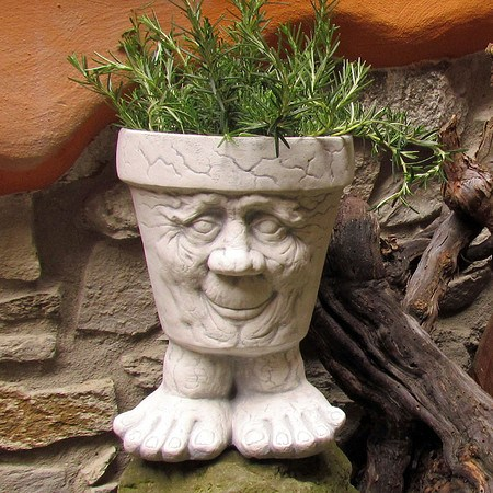 Blumentopf Berni