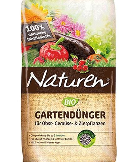 Celaflor Naturen® BIO Gartendünger für Obst- Gemüse- & Zierpflanzen, 1,7 kg