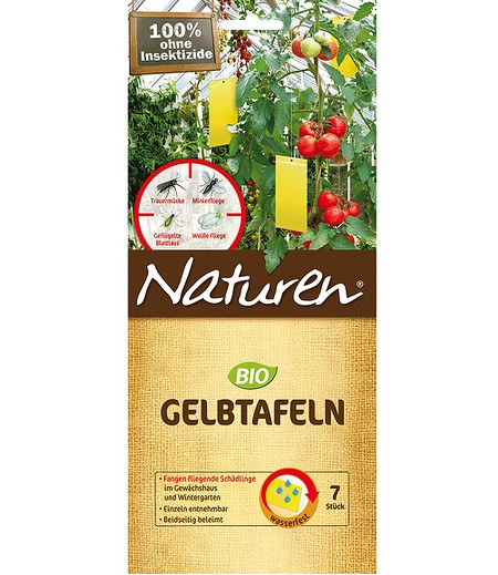 Celaflor Naturen® BIO Gelbtafeln,7 Stück