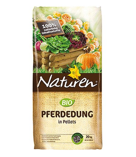 Celaflor Naturen® BIO Pferdedung in Pellets,20 kg