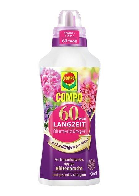 COMPO COMPO 60 Tage Langzeit Blumendünger 750 ml