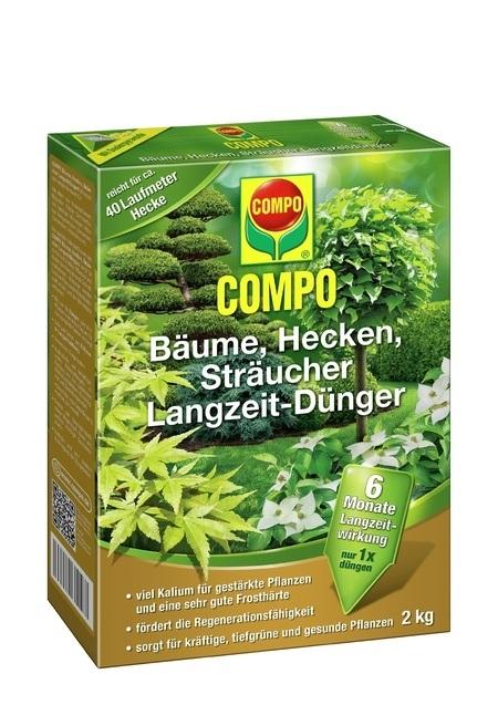 COMPO COMPO Bäume, Hecken, Sträucher Langzeit-Dünger 2 kg
