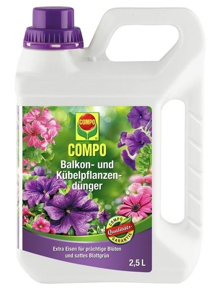 COMPO COMPO Balkon- und Kübelpflanzendünger 2,5 l