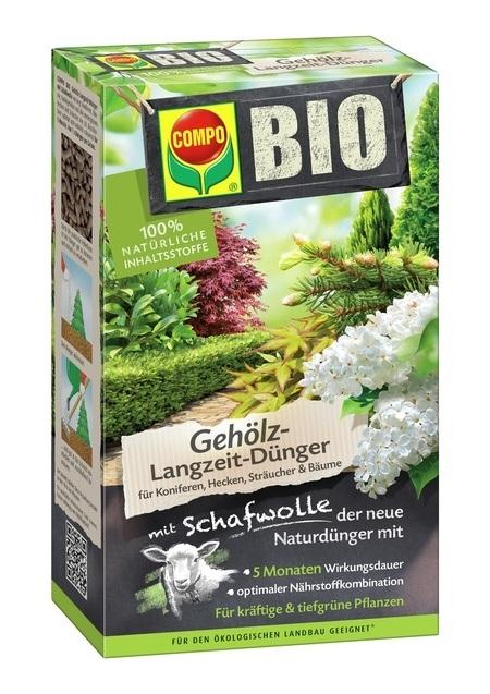 COMPO COMPO BIO Gehölz Langzeit-Dünger 4 x 2 kg