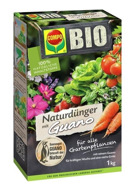 COMPO COMPO BIO NaturDünger Guano 1 kg
