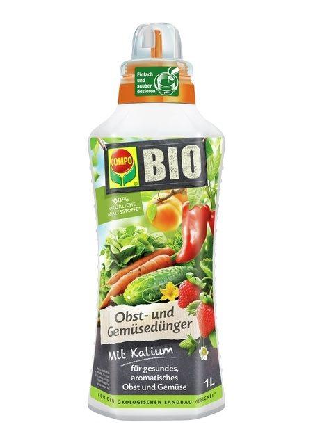 COMPO COMPO BIO Obst- und Gemüsedünger 1 l