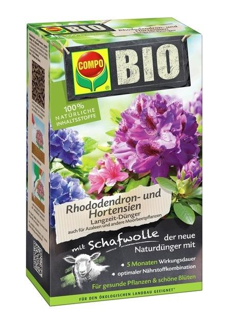 COMPO COMPO BIO Rhododendron- und Hortensien Langzeit-Dünger 750 g