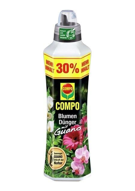 COMPO COMPO Blumendünger mit Guano 1,3 l