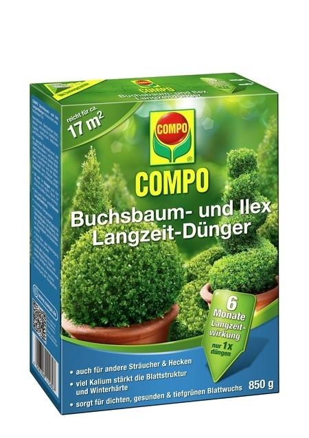 Compo COMPO Buchsbaum- und Ilex Langzeit-Dünger 850 g