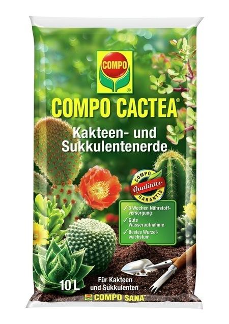 Compo COMPO CACTEA® Kakteen- und Sukkulentenerde 10 L