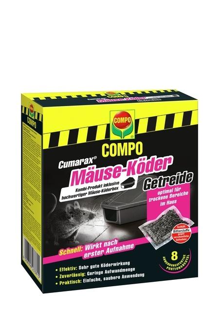Compo COMPO CUMARAX Mäuse-Köder Getreide plus Köderbox