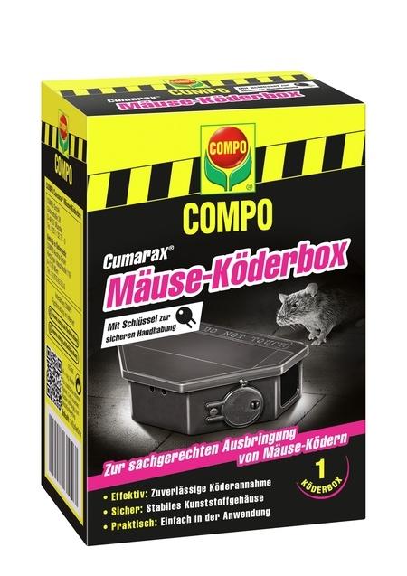 Compo COMPO CUMARAX Mäuse-Köderbox