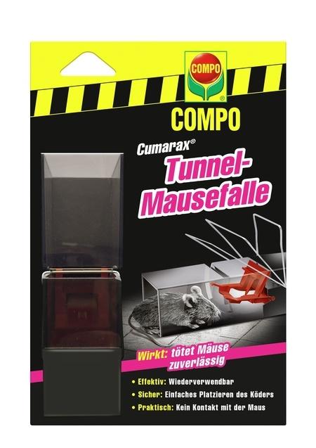 Compo COMPO CUMARAX Mäuse-Tunnelfalle