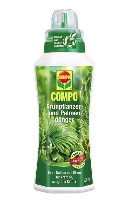 Compo COMPO Grünpflanzen- und Palmendünger 500 ml