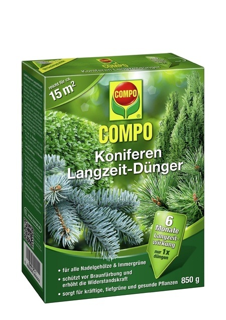 Compo COMPO Koniferen Langzeit-Dünger 850 g