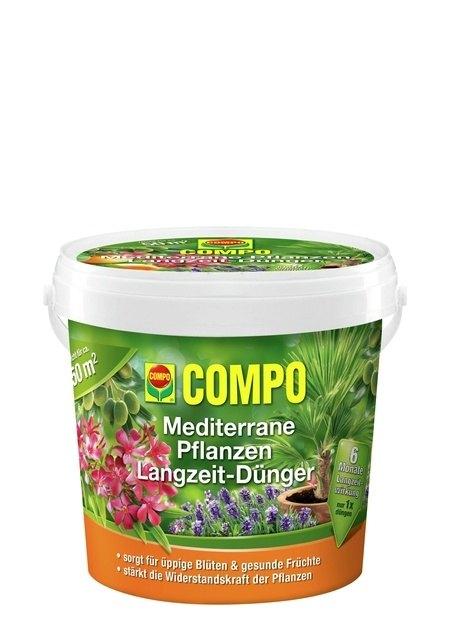 Compo COMPO Mediterrane Pflanzen Langzeit-Dünger 1,5 kg