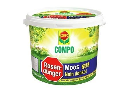 Compo COMPO Rasendünger Moos - Nein danke! 7,5 kg für 300 m²