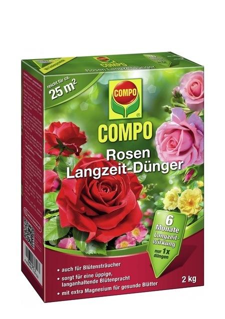 Compo COMPO Rosen Langzeit-Dünger 2 kg