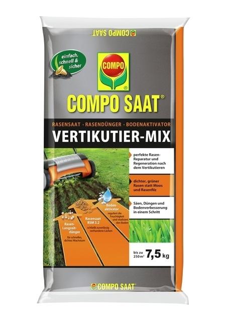COMPO COMPO SAAT® Vertikutier-Mix 7,5 kg für bis zu 250 m²