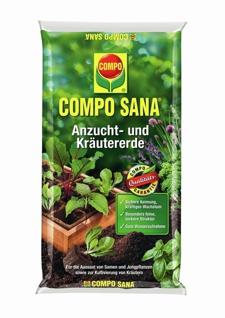 Compo COMPO SANA® Anzucht- und Kräutererde 5 L