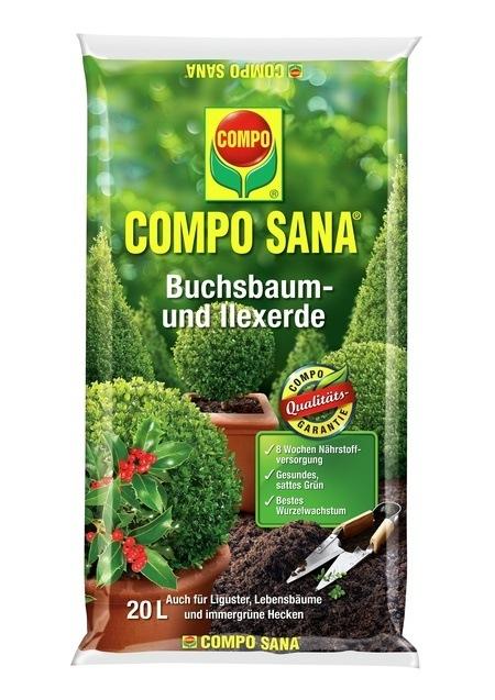 Compo COMPO SANA® Buchs- und Illexerde 20 L