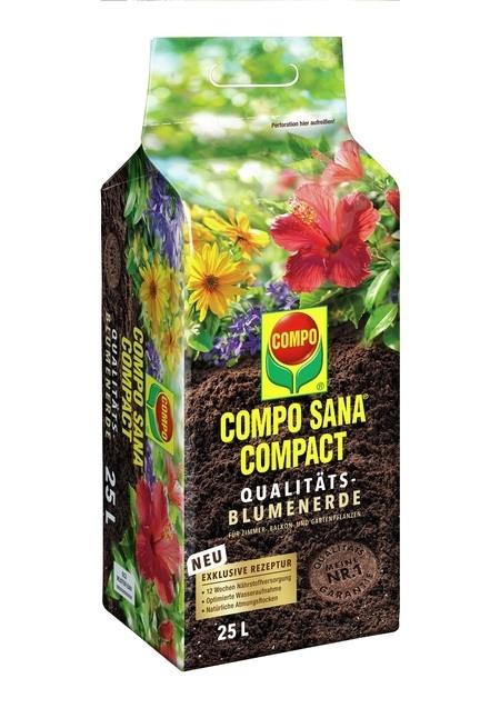 Compo COMPO SANA® COMPACT Qualitäts-Blumenerde 25 L