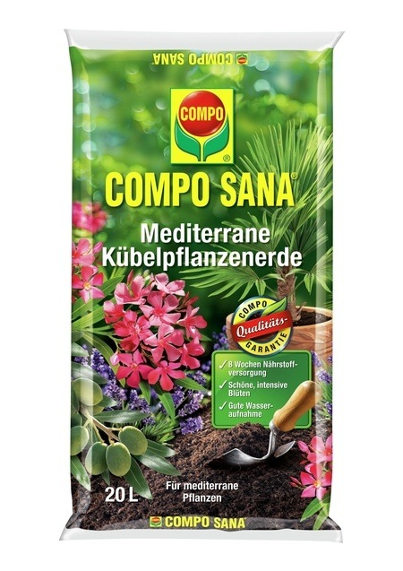 Compo COMPO SANA® Mediterrane Kübelpflanzenerde 20 L