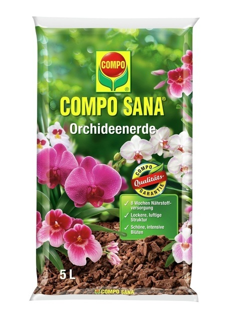Compo COMPO SANA® Orchideenerde 5 L