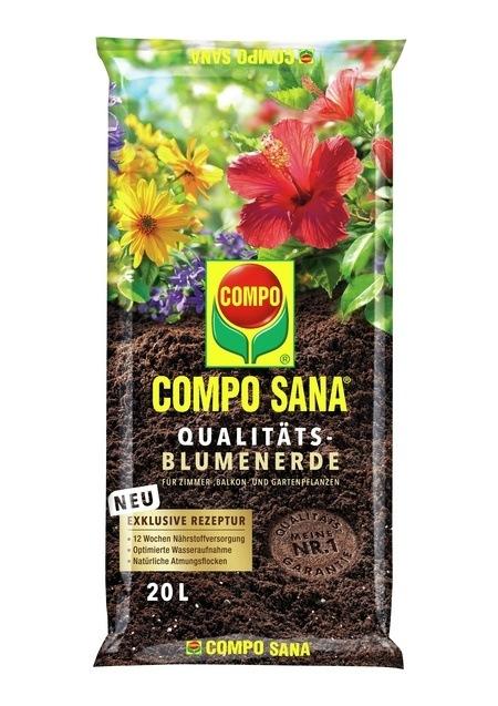 COMPO COMPO SANA® Qualitäts-Blumenerde 20 L
