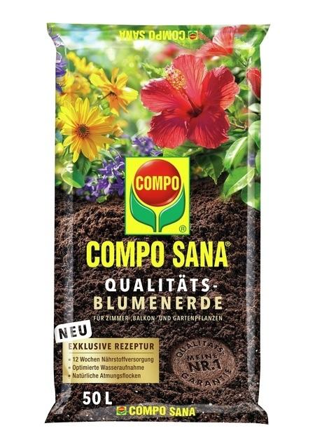 COMPO COMPO SANA® Qualitäts-Blumenerde 50 L
