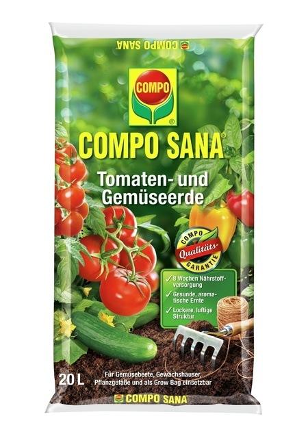Compo COMPO SANA® Tomaten- u. Gemüseerde 20 L