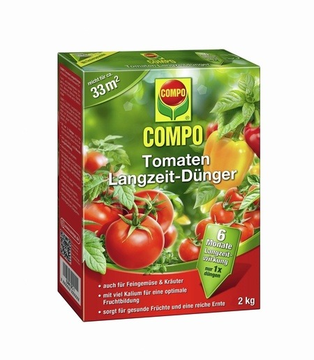 Compo COMPO Tomaten Langzeit-Dünger 2 kg