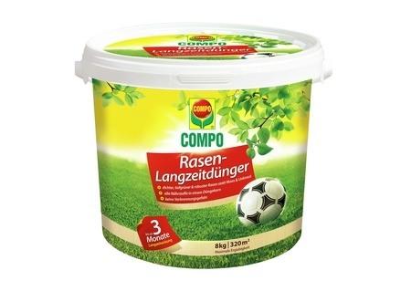 COMPO Rasen-Langzeitdünger 8 kg für 320 m²
