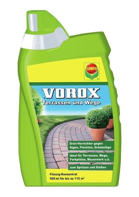 COMPO VOROX® Terrassen und Wege 500 ml