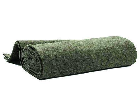Daemwool Winterschutzmatte aus 100% Schafwolle, grau