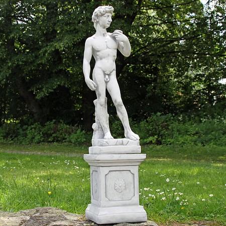 David von Michelangelo auf Sockel, Replik (klein)