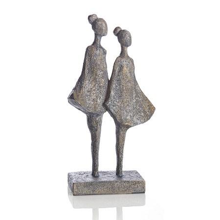Deko-Figur Two Girls