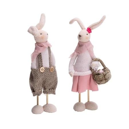 Deko-Figuren-Set, 2tlg. Bibi + Berni Bunt