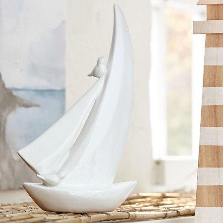 Dekofigur Segelboot