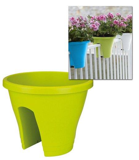 Elho Corsica Flower Bridge® limegrün, 30 cm ø,1 Topf